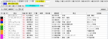 桜花賞2019の予想 火曜日のティアラカップで単勝45.8倍的中!!